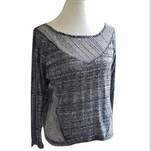Urban Outfitters Sparkle & Fade Top Silver Size M